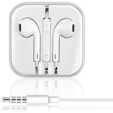 Apple 純正 イヤホン EarPods iPhone 付属品 正規品 3.5mm マイク付き iphone ipods MD827LL/A|sumamon
