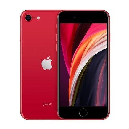 【未使用品·本体のみ】iPhone SE 第2世代 128GB レッド SIMフリー スマホ 本体 新品 A2296 MXD22J/A SE2