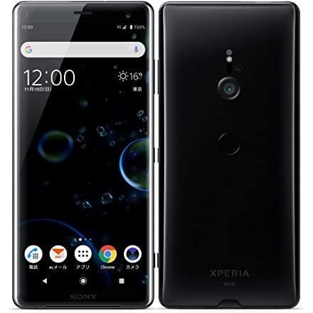 【美品・SIMロック解除済】Xperia XZ3 SOV39 ブラック|au SONY 白ロム スマートフォン 本体|sumamon