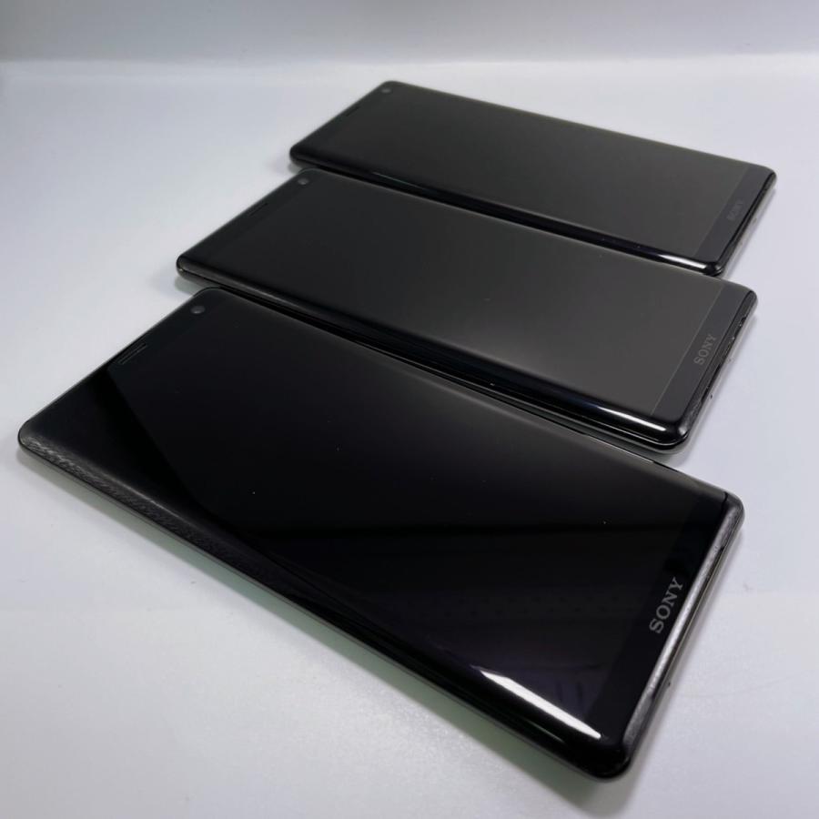 【美品・SIMロック解除済】Xperia XZ3 SOV39 ブラック|au SONY 白ロム スマートフォン 本体|sumamon|03