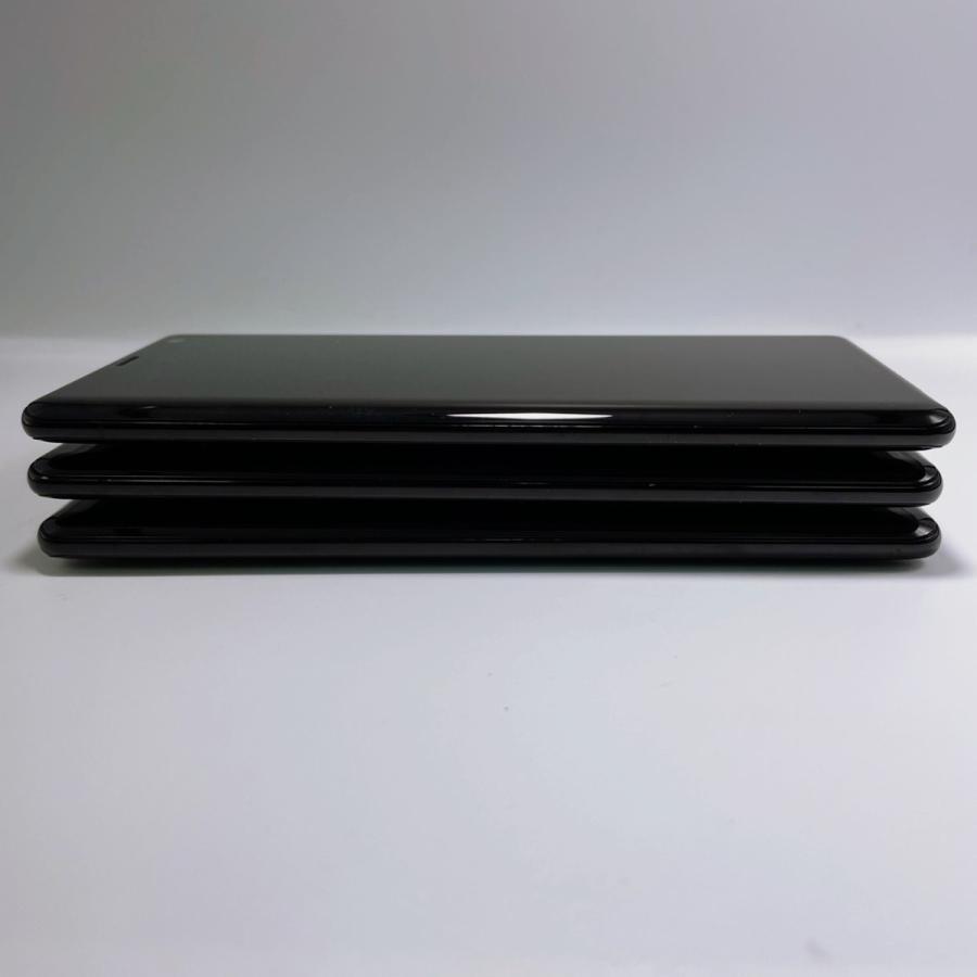 【美品・SIMロック解除済】Xperia XZ3 SOV39 ブラック|au SONY 白ロム スマートフォン 本体|sumamon|06