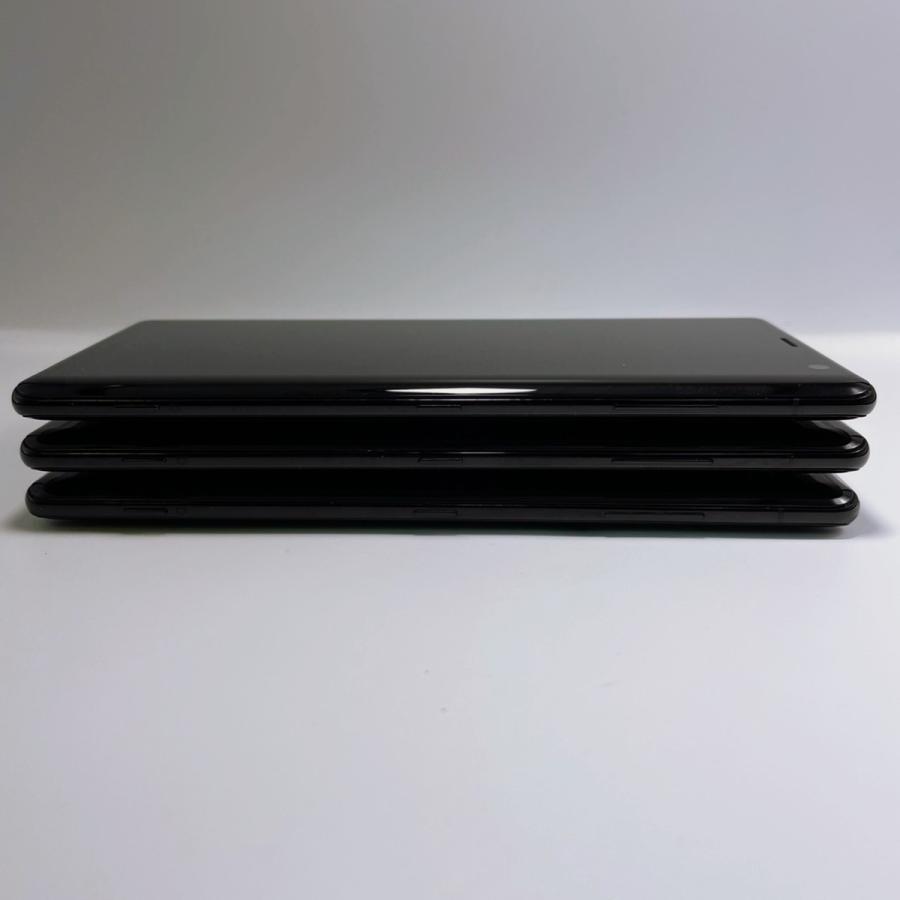 【美品・SIMロック解除済】Xperia XZ3 SOV39 ブラック|au SONY 白ロム スマートフォン 本体|sumamon|07