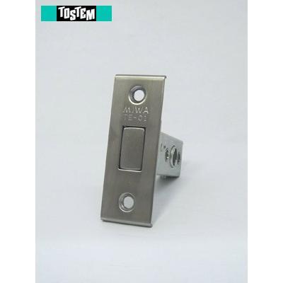 TOSTEM 錠ケース MIWA TE-01 未使用 サブ箱錠 主な使用ドア:クリエラ 贈物 AZWB751 バックセット51mm など