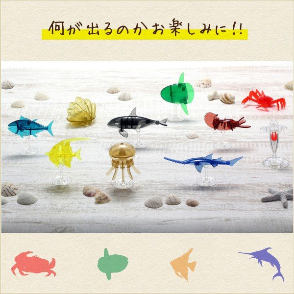 EARTH PIECE アースピース / オーシャン シーズン2 カプセルトイ sumida-aquarium 02