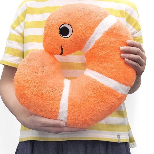 すみだ水族館 くるくるニシキアナゴ クッション ネックピロー sumida-aquarium 03