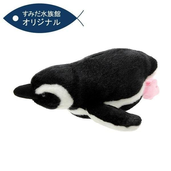 すみだ水族館 オリジナル 飼育員監修 スイミング マゼランペンギン ぬいぐるみ Sサイズ|sumida-aquarium