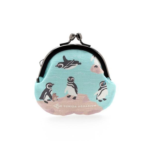 すみだ水族館 オリジナル ペンギン がま口 コインケース|sumida-aquarium|02