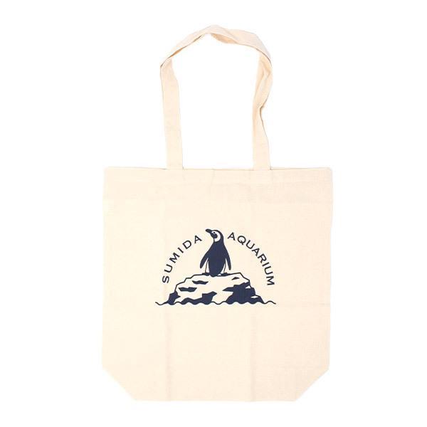 すみだ水族館 オリジナル エコバッグ ペンギン (レッド/ネイビー/イエロー) sumida-aquarium 03