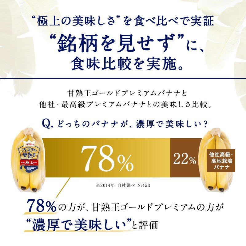 バナナ 甘熟王ゴールドプレミアム 9~10パック スミフル 最高級 sumifru 06