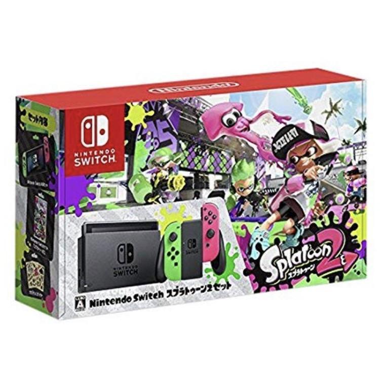 【中古】Nintendo Switch スプラトゥーン2セット ※欠品あり:商品詳細要確認