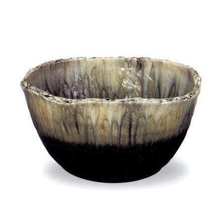 信楽焼 窯変流し 水鉢 20号