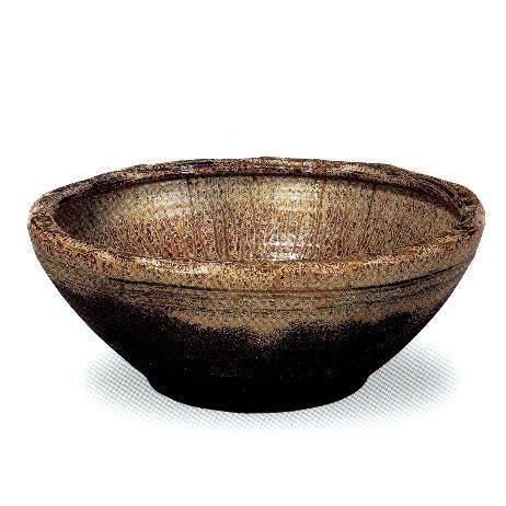 信楽焼 イラボ窯 水鉢 20号