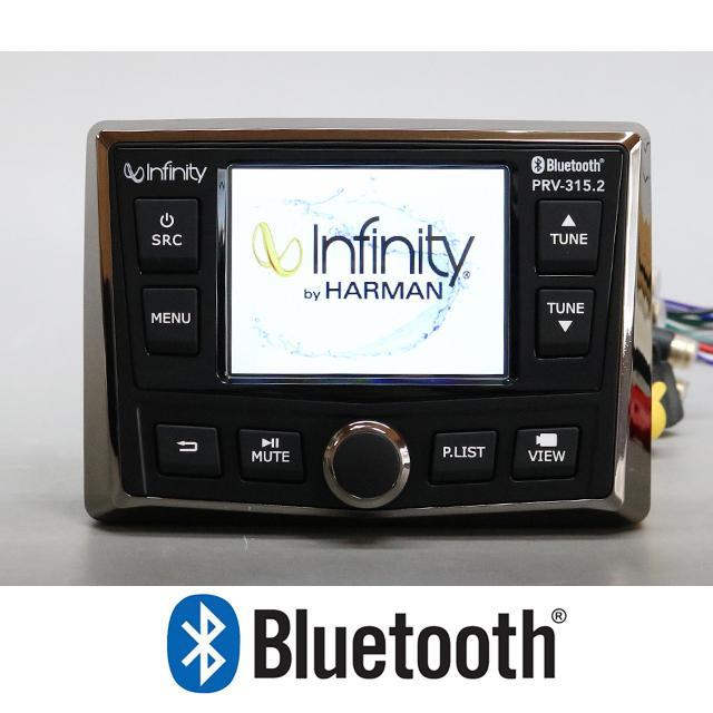 Infinity by HARMAN  Bluetooth内蔵 マリンアンプ マリンデッキ