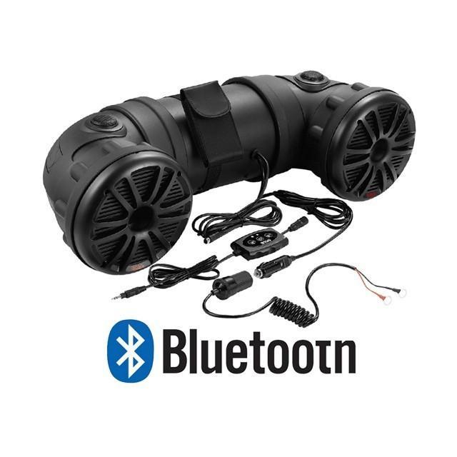 450W Bluetooth内蔵 アンプ内蔵 6.5インチ防水スピーカー【海外取り寄せ商品】