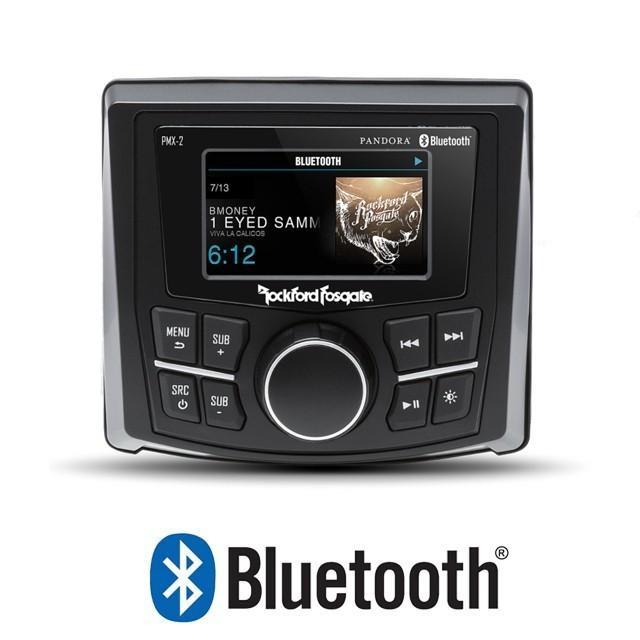 Rockford(ロックフォード) Bluetooth内蔵 マリンアンプ マリンデッキ【海外取り寄せ商品】