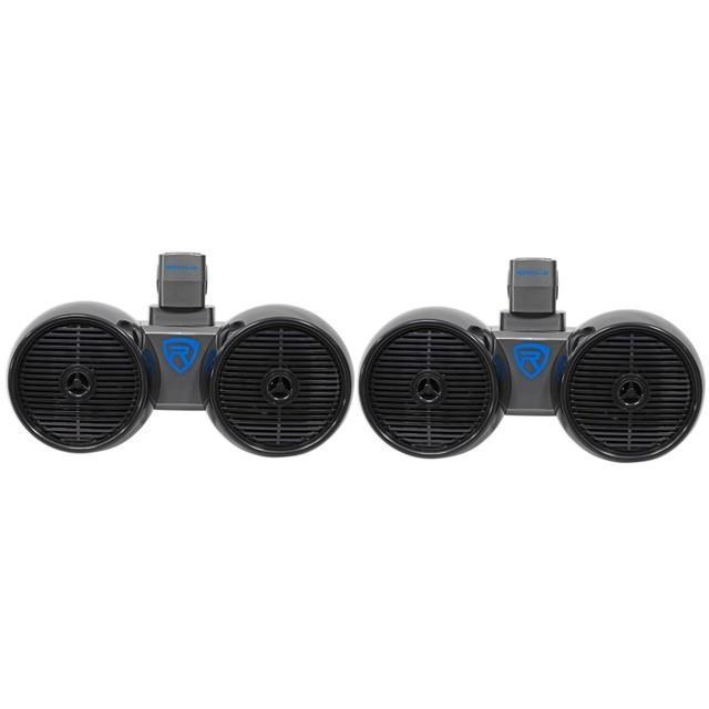 6.5インチ デュアルウェイクタワースピーカー 2way 防水スピーカー【海外取り寄せ商品】