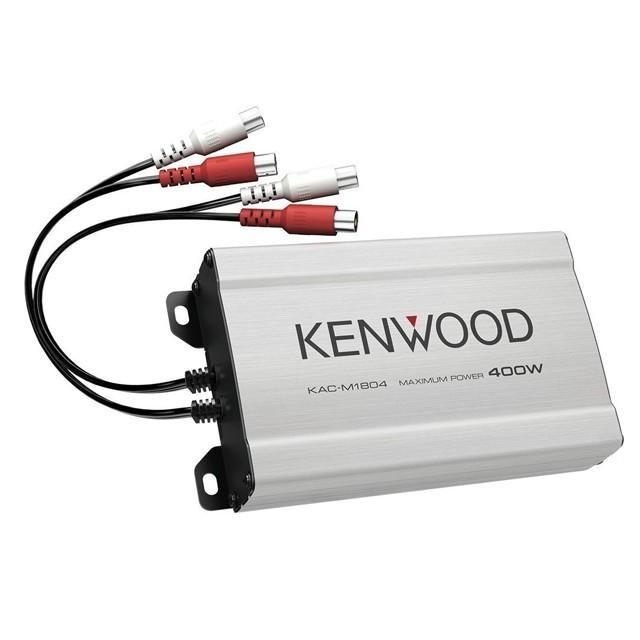 ケンウッド 4ch 超小型アンプ マリンアンプ