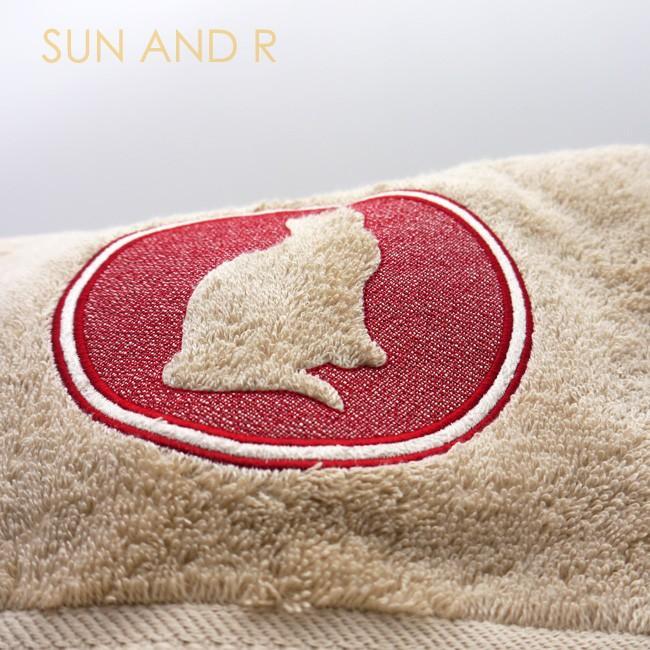 キャット 51犬種デザイン 3Dシルエット バスタオル sun-a-r 04