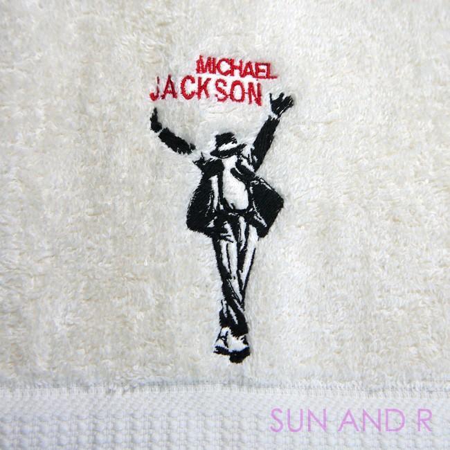 ☆今治タオル 仕様☆マイケルジャクソン ♪THIS IS IT♪ししゅうフェイスタオル|sun-a-r|02