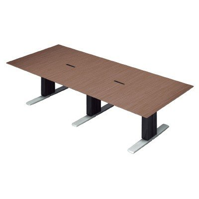 PLUS (プラス) 会議テーブル XF EXECUTIVE (エクセフ エグゼクティブ) XL-2812KZ XL-2812KZ WN ウォールナット突板タイプ【幅2800mm×奥行1200mm×高さ720mm】