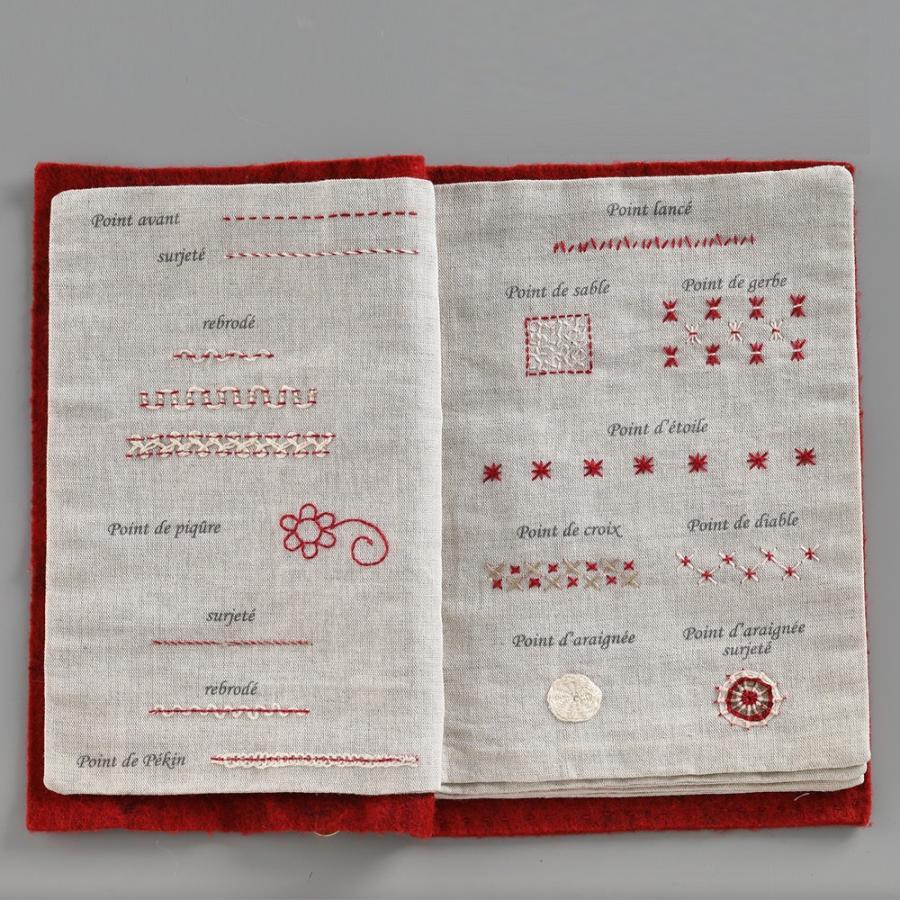 044-00814 CAHIER DE BRODERIE(刺繍帳) sun-k 06