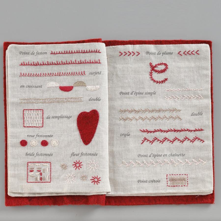 044-00814 CAHIER DE BRODERIE(刺繍帳) sun-k 07