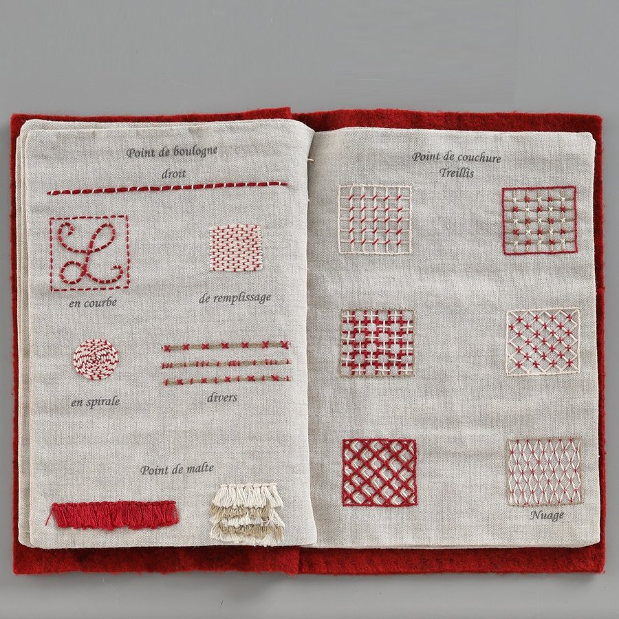 044-00814 CAHIER DE BRODERIE(刺繍帳) sun-k 08