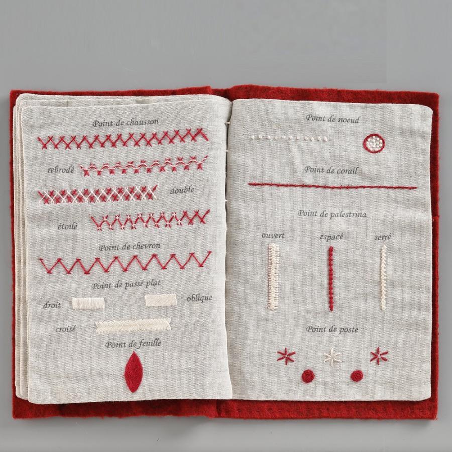 044-00814 CAHIER DE BRODERIE(刺繍帳) sun-k 09