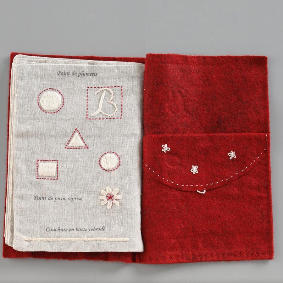 044-00814 CAHIER DE BRODERIE(刺繍帳) sun-k 10