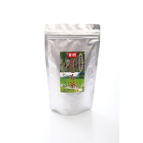 枯草菌の強力な生命力で発酵させました!枯草菌の力で腸活を!常備用[発酵まこも茶 150g] sun-makomo-kunitomi