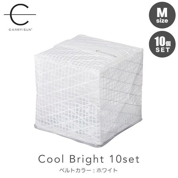 CARRY THE SUN Medium Cool Bright ベルトカラー:ホワイト 10個セット CTSC-WHM ランタン