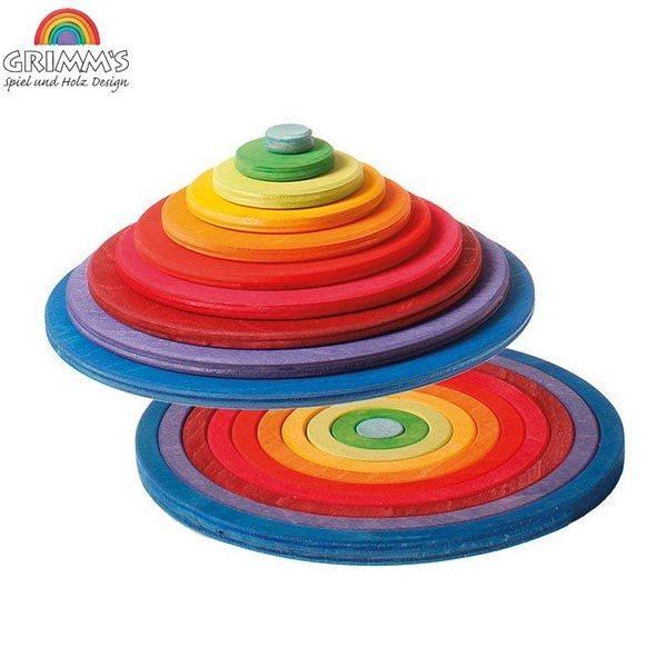(10/12-14はポイント最大10から17倍!) グリムス 円盤とリング GM10677 知育玩具