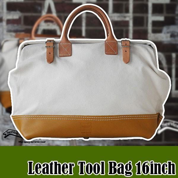 ヘリテージレザー 16インチ Leather Tool Bag ツールバッグ HL312A