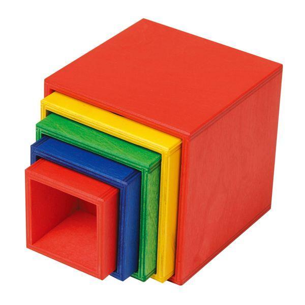 ニック スタックボックス NC65067(知育玩具) NIC 出産祝い 木製 おもちゃ 0歳 1歳 2歳 3歳 4歳