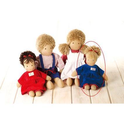 (10/12-14はポイント最大10から17倍!) シルケ ロッテちゃん 青 SI10920 (着せ替え人形) 知育玩具