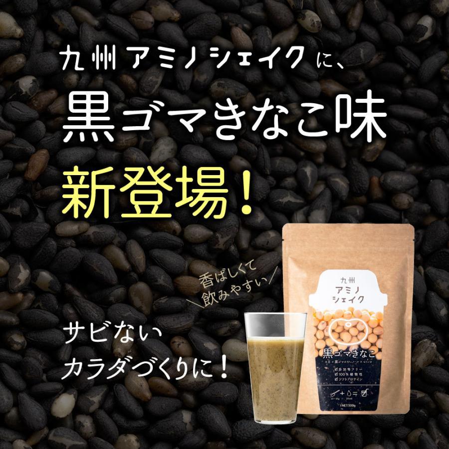プロテイン 大豆たんぱく質 ソイプロテイン 九州アミノシェイク 1袋 (抹茶きな粉 / カカオ味/コーヒー味) (出荷目安:注文後1〜2週間)|sunao-syokudou|03