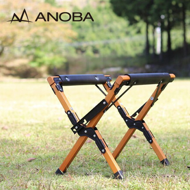 ANOBA アノバ 可変式ウッドクーラースタンド クーラーボックス 置き 荷台