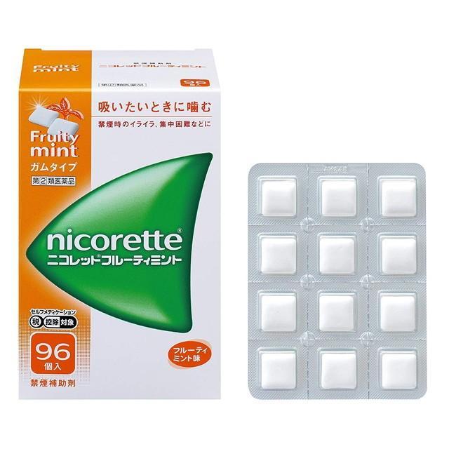 中古 スイッチOTC ファッション通販 指定第2類医薬品 96個 ニコレットフルーティミント