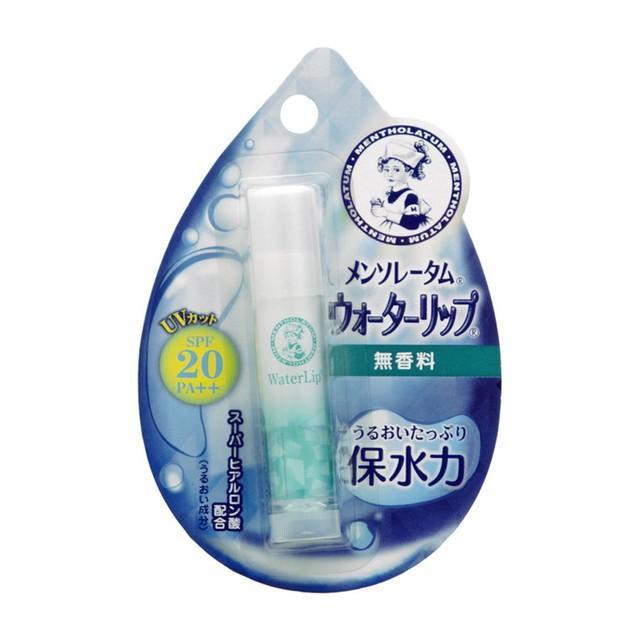 業界No.1 返品不可 ロート製薬 メンソレータム ウォーターリップ 4.5g 無香料