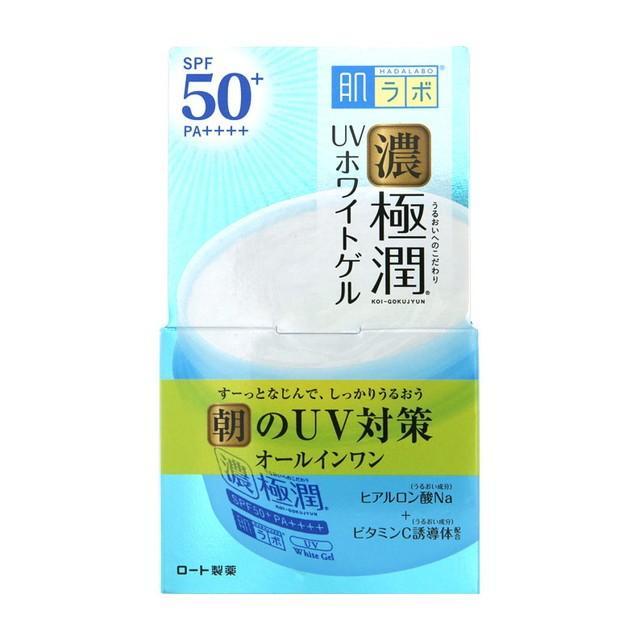 ロート製薬 SALENEW大人気 肌ラボ 濃極潤 90g 正規逆輸入品 UVホワイトゲル