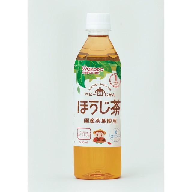 和光堂 登場大人気アイテム 年中無休 ベビーのじかん ほうじ茶 24本セット 500ml 1ヶ月頃から