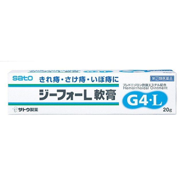 指定第2類医薬品 ジーフォーL軟膏 ※発送まで11日以上 人気海外一番 20g 激安価格と即納で通信販売