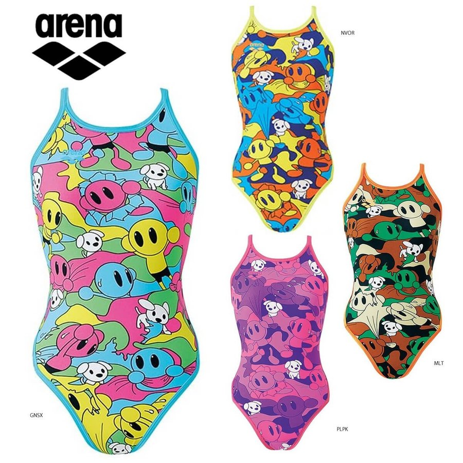 【特価】arena SAR-8123W トレーニング水着(レディース) スイムウェア 水泳 アリーナ