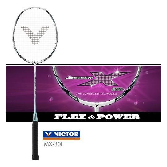 【特価】VICTOR METEOR X 30L/ MX-30L ビクター バドミントンラケット【取り寄せ/ ガット張り工賃無料】 sunfastsports
