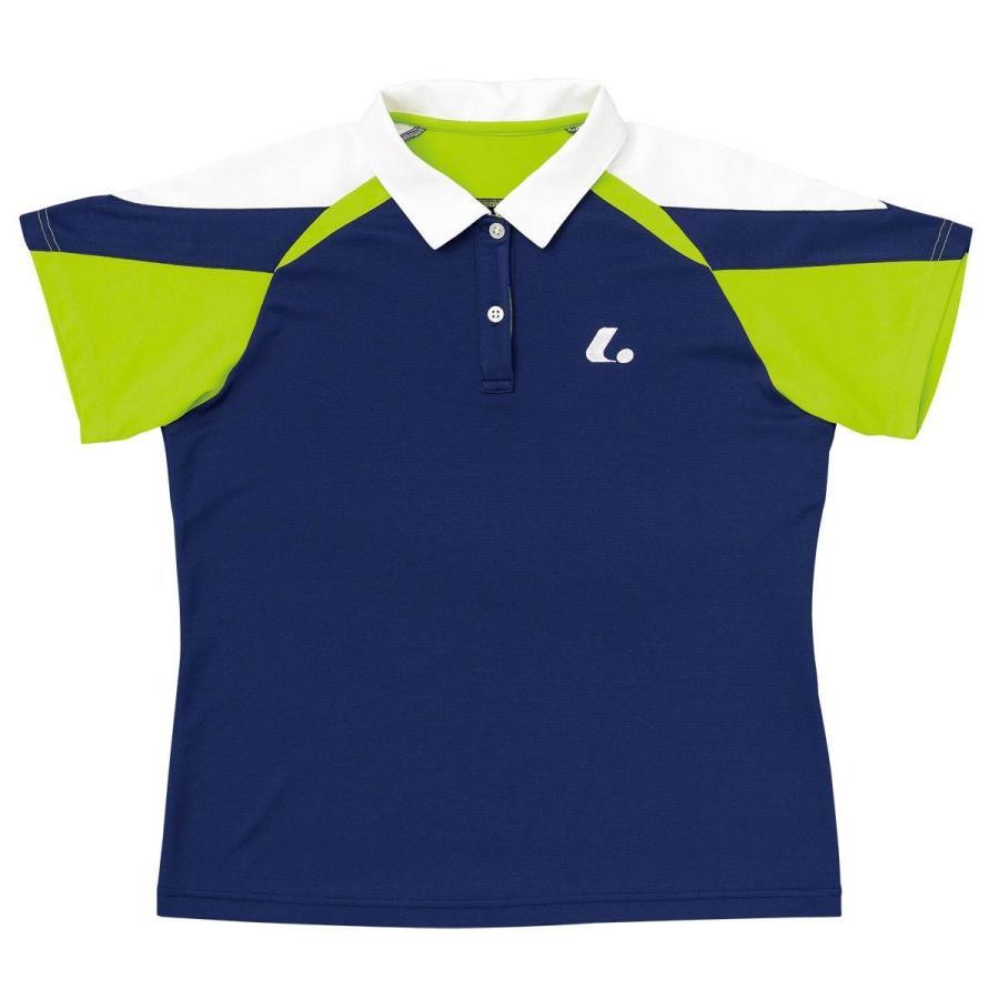 LUCENT XLP4956 テニス ウェア(レディース) ゲームシャツ ルーセント18SS【取り寄せ】