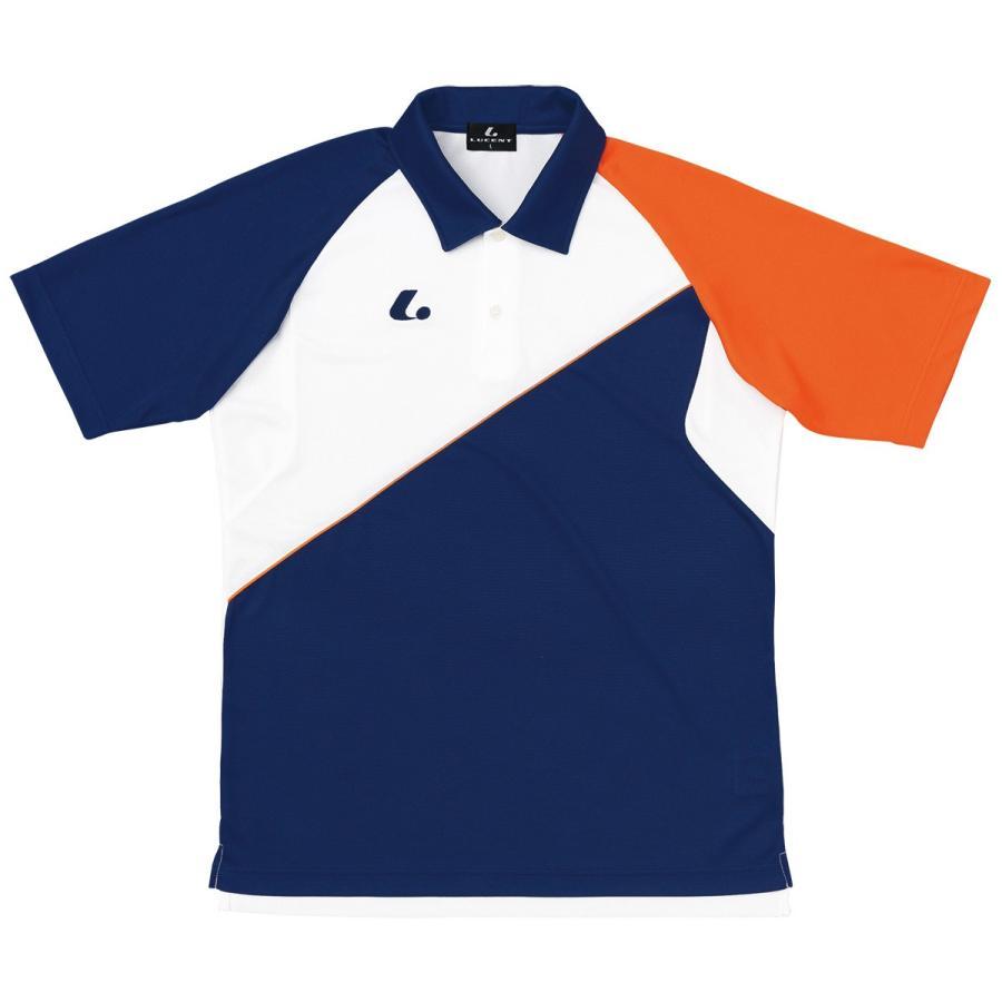 LUCENT XLP8446 テニス ウェア(ユニ/メンズ) Uni ゲームシャツ ルーセント18SS【取り寄せ】