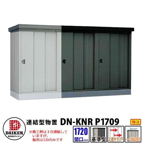 ダイケン 連結型物置 一般型 連結型 DM-KNR-C1709 間口1720×奥行920×高さ2120(mm土台寸法) マンション収納 特注品 代引不可