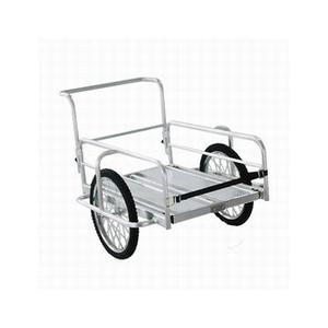 リアカーアルミ製折りたたみリアカー OR-10 本宏 折り畳み リヤカー 送料無料
