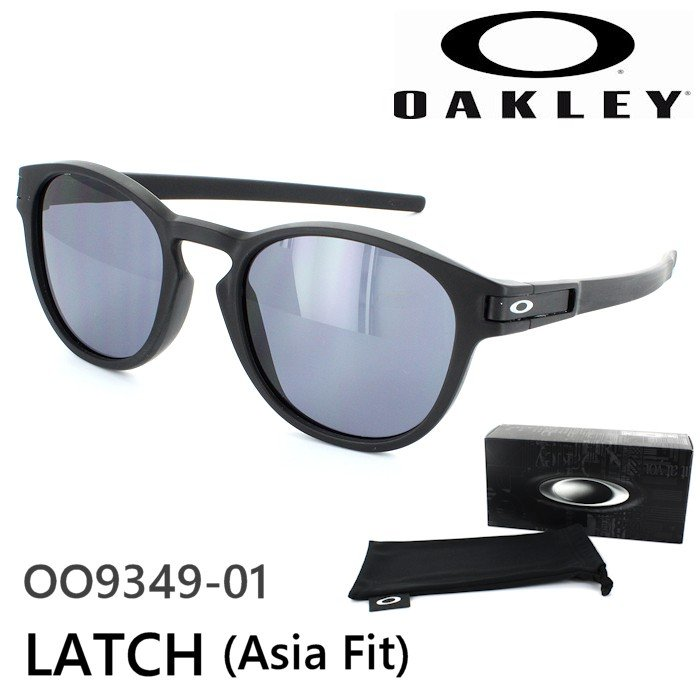 オークリー サングラス LATCH ラッチ OO9349-01 メンズ レディース UVカット スポーツ アジアンフィット ポイント15倍