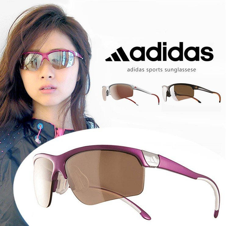 アディダス レディース サングラス ゴルフ adidas adivista a165 S 6091 6094 6097 度付き 対応 スポーツサングラス